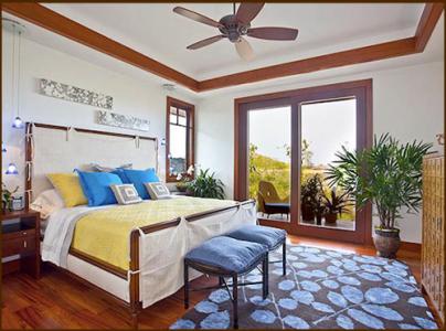 Jennifer Day  Kukio Master Bedroom Design