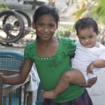 girl and child nicaragua