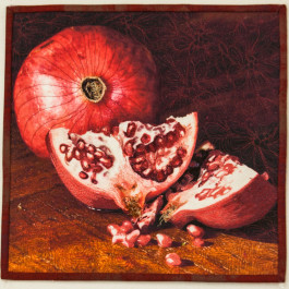 Jennifer Day Pomegranate Thread Printing