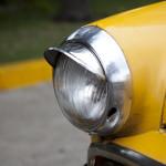 yellow car cuba